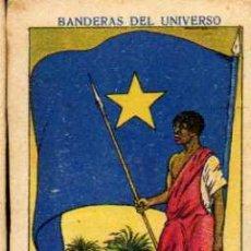 Coleccionismo Cromos antiguos: CROMO Nº 5 - CONGO BELGA - COLECCIÓN BANDERAS DEL UNIVERSO - CHOCOLATES AMATLLER/GUILLEN - AÑOS 20. Lote 8449637