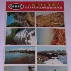 Coleccionismo Cromos antiguos: LAMINAS AUTOADHESIVAS * DIDEC * PRIMERA SERIE. Nº 28 ECOLOGIA. Lote 29427635