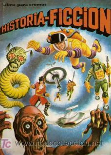 HISTORIA FICCION 17 CROMOS - TAMBIEN SUELTOS (Coleccionismo - Cromos y Álbumes - Cromos Antiguos)