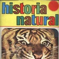 Coleccionismo Cromos antiguos: HISTORIA NATURAL 274 CROMOS - TAMBIEN SUELTOS. Lote 11526866