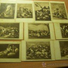 Coleccionismo Cromos antiguos: LOTE COLECCION COMPLETA GOYA (LECHE CONDENSADA NVRIA) (CRIP5). Lote 13307047