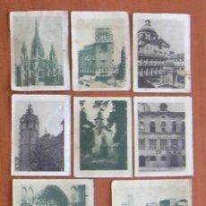 Coleccionismo Cromos antiguos: 10 CROMOS DE LA TÓMBOLA DE 1954 - VISTAS DE ESPAÑA. Lote 8391850