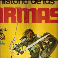 Coleccionismo Cromos antiguos: HISTORIA DE LAS ARMAS 133 CROMOS - TAMBIEN SUELTOS. Lote 10102178