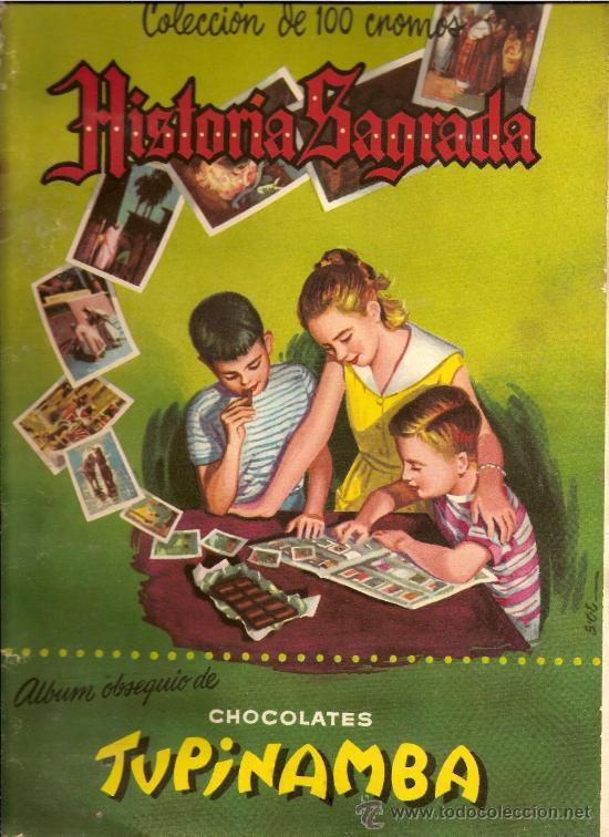 HISTORIA SAGRADA 44 CROMOS - TAMBIEN SUELTOS (Coleccionismo - Cromos y Álbumes - Cromos Antiguos)