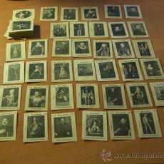 Coleccionismo Cromos antiguos: COLECCION COMPLETA 80 CROMOS ( SERIE B )MUSEO NACIONAL DEL PRADO ( MUY ANTIGUO ) (CRIP5). Lote 26825717