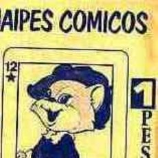 Coleccionismo Cromos antiguos: SOBRES CROMOS SIN ESTRENAR NAIPES COMICOS . Lote 10204770