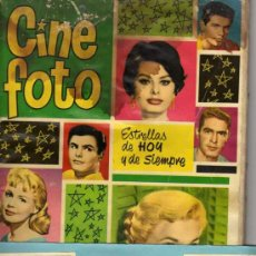 Coleccionismo Cromos antiguos: CINE - FOTO BRUGUERA ESTRELLAS DE HOY Y DE SIEMPRE 1961 - LOTE 14 CROMOS. Lote 16234128