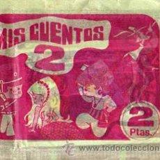 Coleccionismo Cromos antiguos: SOBRE SIN ABRIR - MIS CUENTOS 2 1973 , EDT, RUIZ ROMERO. Lote 11069551