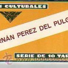 Coleccionismo Cromos antiguos: CROMOS CULTURALES - HERNÁN PEREZ DEL PULGAR -Nº 28 - SERIE DE 10. Lote 11250410