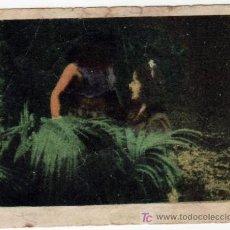Coleccionismo Cromos antiguos: CROMO Nº128 EN LA SELVA DEL TERROR (CARPETA-SOBRE CINEGRAMA PITUCO). Lote 12121416