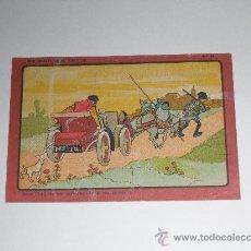 Coleccionismo Cromos antiguos: CROMO PUBLICIDAD BENEDICTO . DON QUIJOTE EN EL SIGLO XX . Nº 24 . MEDIDAS 13 X 9 CMS. Lote 22501158