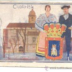 Coleccionismo Cromos antiguos: CROMO ESPAÑA EN LA MANO CIUDAD REAL COLECCION DE CROMOS TRAJES TIPICOS Nº3. Lote 27706808