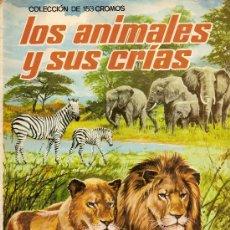 Coleccionismo Cromos antiguos: LOS ANIMALES Y SUS CRIAS 48 CROMOS - TAMBIEN SUELTOS. Lote 14533465