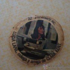 Coleccionismo Cromos antiguos: CROMO Nº 22 DE CHAPA DE COCA-COLA DE SUPERMAN. DEL ALBUM SUPERMAN DEL AÑO 1978. POSIBILIDAD DE LOTES. Lote 27440889