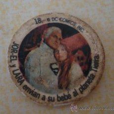 Coleccionismo Cromos antiguos: CROMO Nº 18 DE CHAPA DE COCA-COLA DE SUPERMAN. DEL ALBUM SUPERMAN DEL AÑO 1978. POSIBILIDAD DE LOTES. Lote 27440891