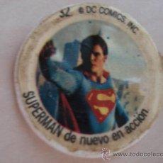 Coleccionismo Cromos antiguos: CROMO Nº 32 DE CHAPA DE COCA-COLA DE SUPERMAN. DEL ALBUM SUPERMAN DEL AÑO 1978. POSIBILIDAD DE LOTES. Lote 26929918