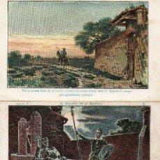 Coleccionismo Cromos antiguos: D. QUIJOTE DE LA MANCHA (CHOCOLATES AMATLLER). Lote 23001121