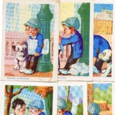 Coleccionismo Cromos antiguos: EL DETECTIVE BOBBY, CHOCOLATES AMATLLER. Lote 15148636