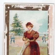 Coleccionismo Cromos antiguos: CROMO CHOCOLATE SIGLO XIX. Lote 15244800