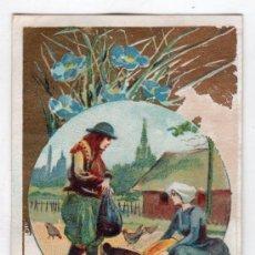 Coleccionismo Cromos antiguos: CROMO CHOCOLATE SIGLO XIX. Lote 15244808