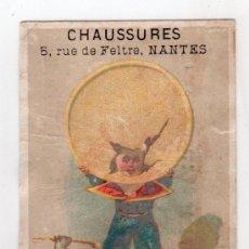 Coleccionismo Cromos antiguos: CROMO SIGLO XIX. Lote 15245066