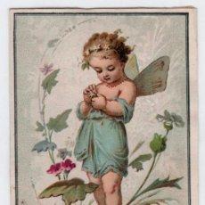 Coleccionismo Cromos antiguos: CROMO SIGLO XIX. Lote 15245069