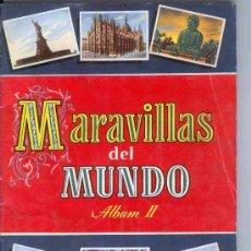 Coleccionismo Cromos antiguos: 100 CROMOS SUELTOS DEL ALBUM MARAVILLAS DEL MUNDO ALBUM II - BRUGUERA 1956 TENGO CASI TODOS CROMO. Lote 68358443
