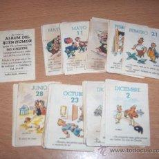 Coleccionismo Cromos antiguos: 79 CROMOS DEL ALBUM DEL BUEN HUMOR POTAX. Lote 35846307