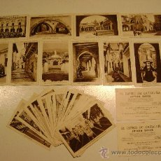 Coleccionismo Cromos antiguos: EXPOSICION INTERNACIONAL DE BARCELONA.42 CROMOS.¿COMPLETA?. Lote 16933645