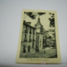 Coleccionismo Cromos antiguos: CROMO. VISTAS FOTOGRÁFICAS DE ESPAÑA. 55 - MADRID BARRIO TÍPICO. 7,5X5 CMS.. Lote 23459349