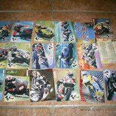 Coleccionismo Cromos antiguos: 18 CROMOS MOTO GP. Lote 27262436