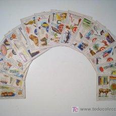 Coleccionismo Cromos antiguos: ENCICLOPEDIA INFANTIL SERIE 1 - JUNCOSA - LOTE 15 CROMOS. Lote 18624722