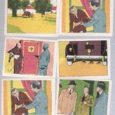 Coleccionismo Cromos antiguos: CINEGRAMA PITUCO. LOS CRÍMENES DEL FANTASMA.1946. CROMOS (6X8) A 3 EUROS.¡PREGUNTA TUS FALTAS!. Lote 19043391