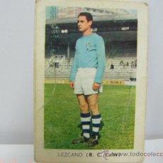 Coleccionismo Cromos antiguos: LEZCANO CELTA CROMOS FHER TEMPORADA 1970 1971. Lote 19184742