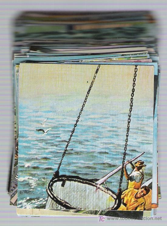 MUNDO AMENO. BRUGUERA 1973. CROMOS A 0,50 ¡PREGUNTA POR TUS FALTAS! (Coleccionismo - Cromos y Álbumes - Cromos Antiguos)