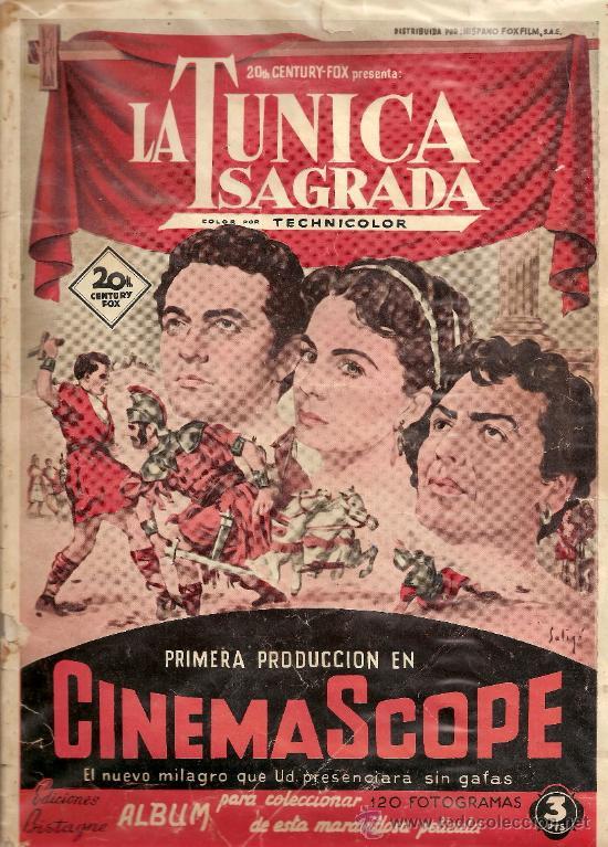 LA TUNICA SAGRADA 63 CROMOS - TAMBIEN SUELTOS (Coleccionismo - Cromos y Álbumes - Cromos Antiguos)