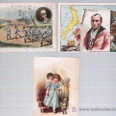 Coleccionismo Cromos antiguos: LOTE DE 2 CROMOS PUBLICITARIOS (5,5X8,5) CHOCOLATES JAIME BOIX Y ALHAMBRA.. Lote 20518052
