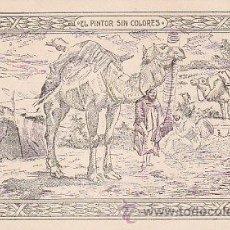 Coleccionismo Cromos antiguos: EL PINTOR SIN COLORES, PUBLICIDAD DE FOSFO-GLICO-KOLA DOMENECH (FARMACIA DOMENECH DE BARCELONA).... Lote 26612128