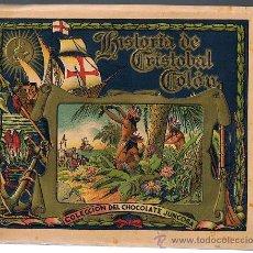 Coleccionismo Cromos antiguos: LOTE DE CROMOS. CROMOS SUELTOS 1 € Y 2 €. CRISTOBAL COLÓN. CHOCOLATE CHOCOLATES JUNCOSA.. Lote 47916381
