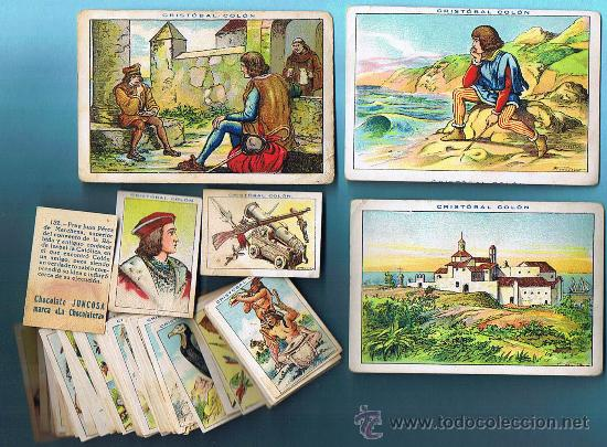 Coleccionismo Cromos antiguos: LOTE DE CROMOS. CROMOS SUELTOS 1 € Y 2 €. CHOCOLATE CHOCOLATES JUNCOSA. - Foto 2 - 47916381