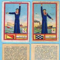 Coleccionismo Cromos antiguos: LOTE DE CROMOS. CROMOS SUELTOS; 2,00 €. TELEGRAFÍA.CHOCOLATE CHOCOLATES JUNCOSA.. Lote 38724189