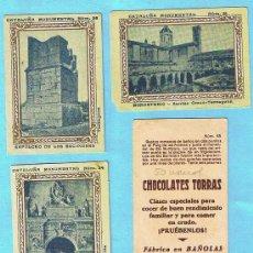 Coleccionismo Cromos antiguos: LOTE DE CROMOS. CROMOS SUELTOS; 2,00 €. CATALUÑA MONUMENTAL. CROMOS SUELTOS. CHOCOLATES TORRAS.. Lote 21937892