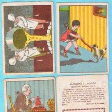 Coleccionismo Cromos antiguos: LOTE DE CROMOS. CROMOS SUELTOS; 1,00 €. RECETAS. CHOCOLATE CHOCOLATES TORRAS.. Lote 21939228