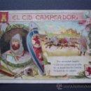 Coleccionismo Cromos antiguos: EL CID CAMPEADOR - COMPLETA (30 CROMOS) - - CHOCOLATES TORRENT ( BAÑOLAS / BANYOLES . Lote 26599332