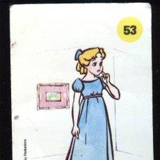 Coleccionismo Cromos antiguos: PLASTICROMO Nº 53 WENDY, PLASTICROMOS DE BIMBO, LOS AMIGOS DE MICKEY. Lote 22637057