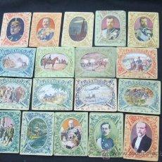 Coleccionismo Cromos antiguos: LOTE 18 SOBRES CON 6 FOTOTIPIAS - GUERRA EUROPEA 1914-1918 - EDITORIAL TIKET -. Lote 26437469