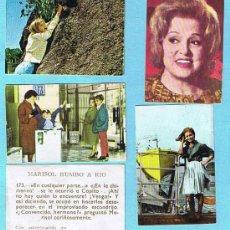 Coleccionismo Cromos antiguos: LOTE DE CROMOS. CROMOS SUELTOS; 0,60 €. MARISOL RUMBO A RIO. EDITORIAL FHER, 1963.. Lote 29979761