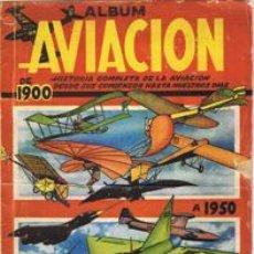 Coleccionismo Cromos antiguos: 50 CROMOS SUELTOS DEL ALBUM AVIACION DE 1900 A 1950 DE CLIPER AÑOS 50 CROMO. Lote 47948852