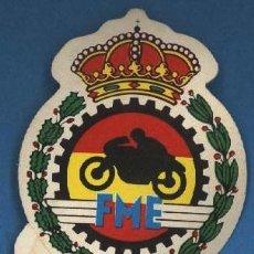 Coleccionismo Cromos antiguos: FEDERACION MOTOCICLISMO ESPAÑOLA - EL MUNDO DE LAS MOTOS - BIMBO. Lote 94609338
