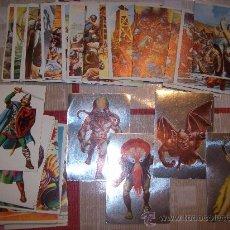Coleccionismo Cromos antiguos: LOTE 50 CROMOS HISTORIA FICCION. MAGA. Lote 26900605